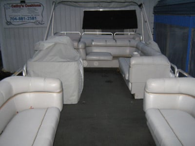 BOAT UPHOLSTERY  We bring style back to your boat upholstery!